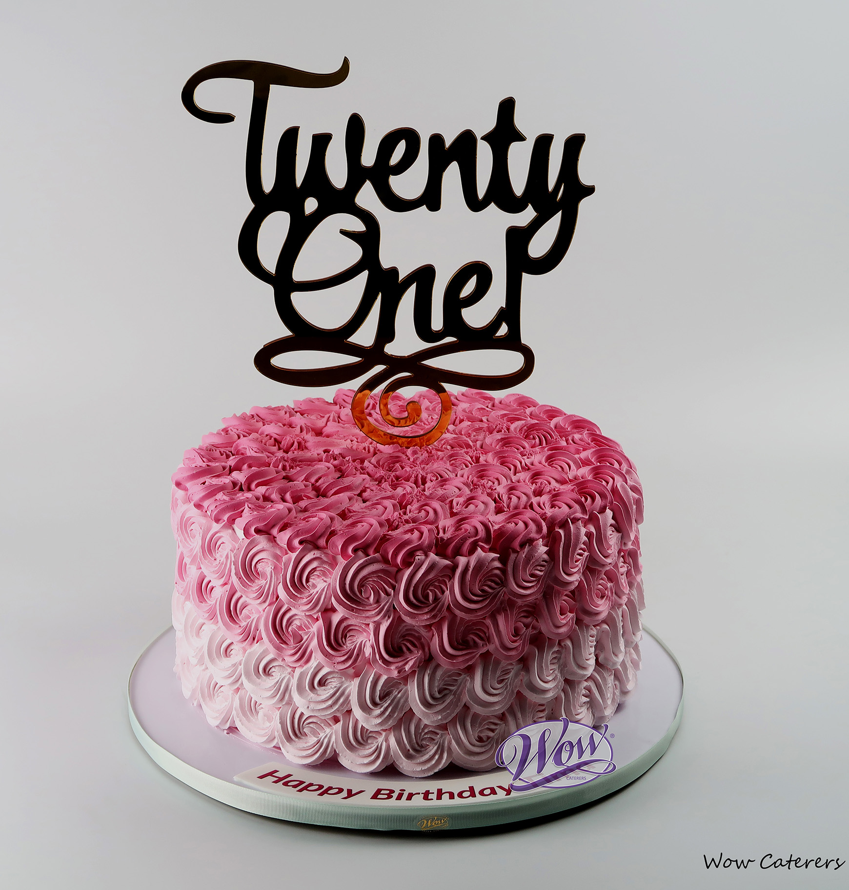 Birthday Cake 32 Wow Caterers